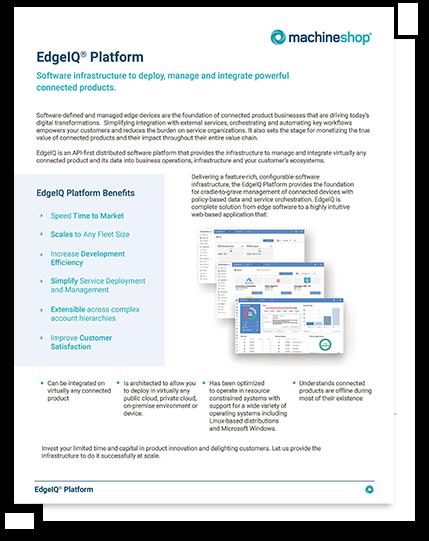EdgeIQ Platform Data Sheet