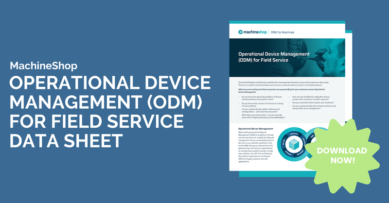 Operational Device Management for Field Service