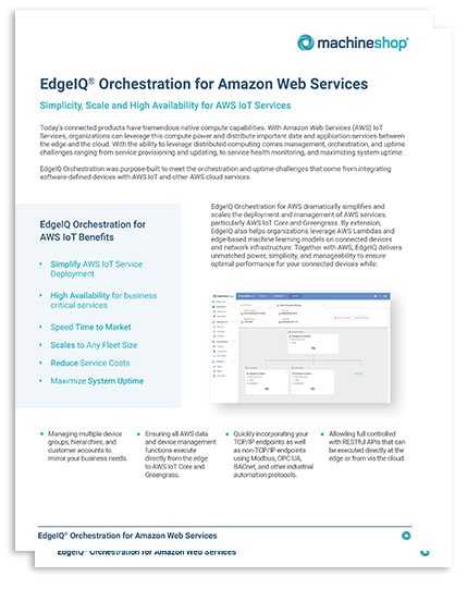 Orchestration for AWS Landing Page Graphic