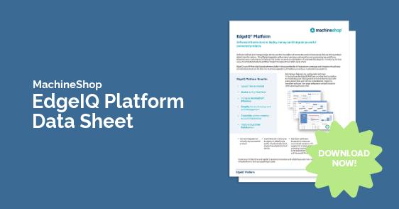 EdgeIQ Platform Data Sheet Banner