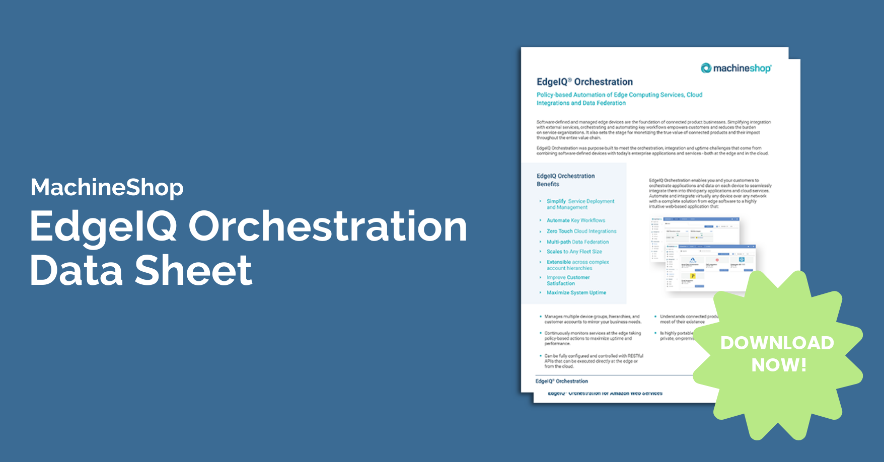Orchestration Landing Page Banner