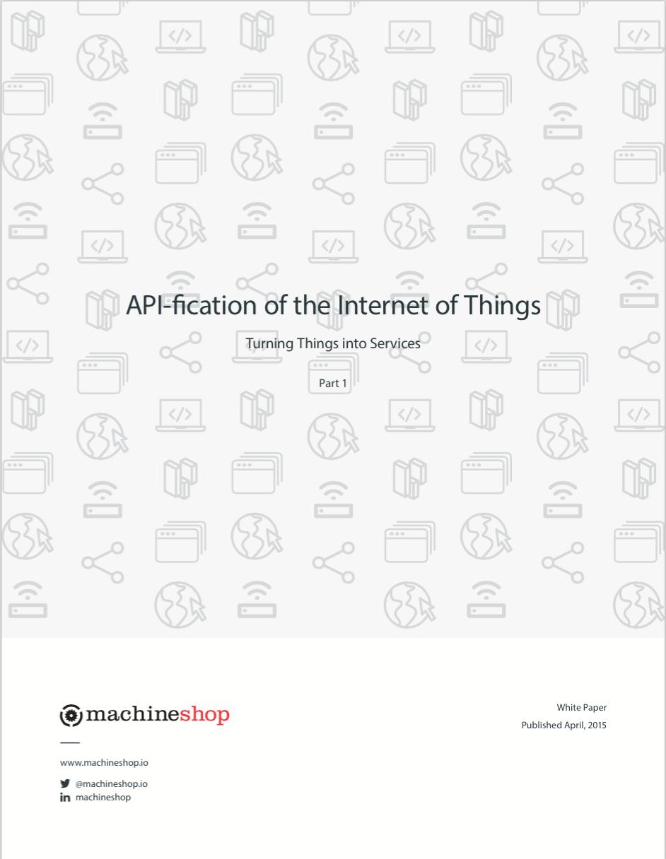 API-fication_of_Iot